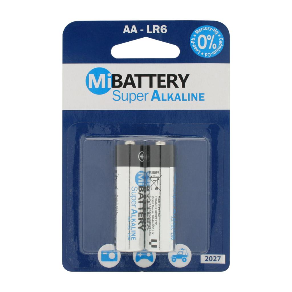 بررسی و {خرید با تخفیف} باتری قلمی مدل LR6 بسته 2 عددی غیر اصلاصل