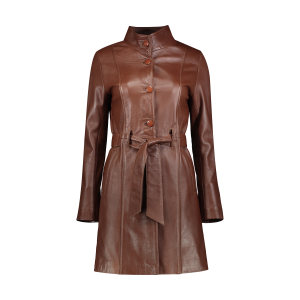 کت چرم زنانه شیفر مدل 2702S-03