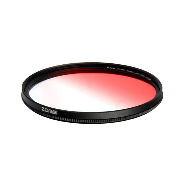 فیلتر لنز زومی مدل Ultra Slim GC- RED Gradient 82mm