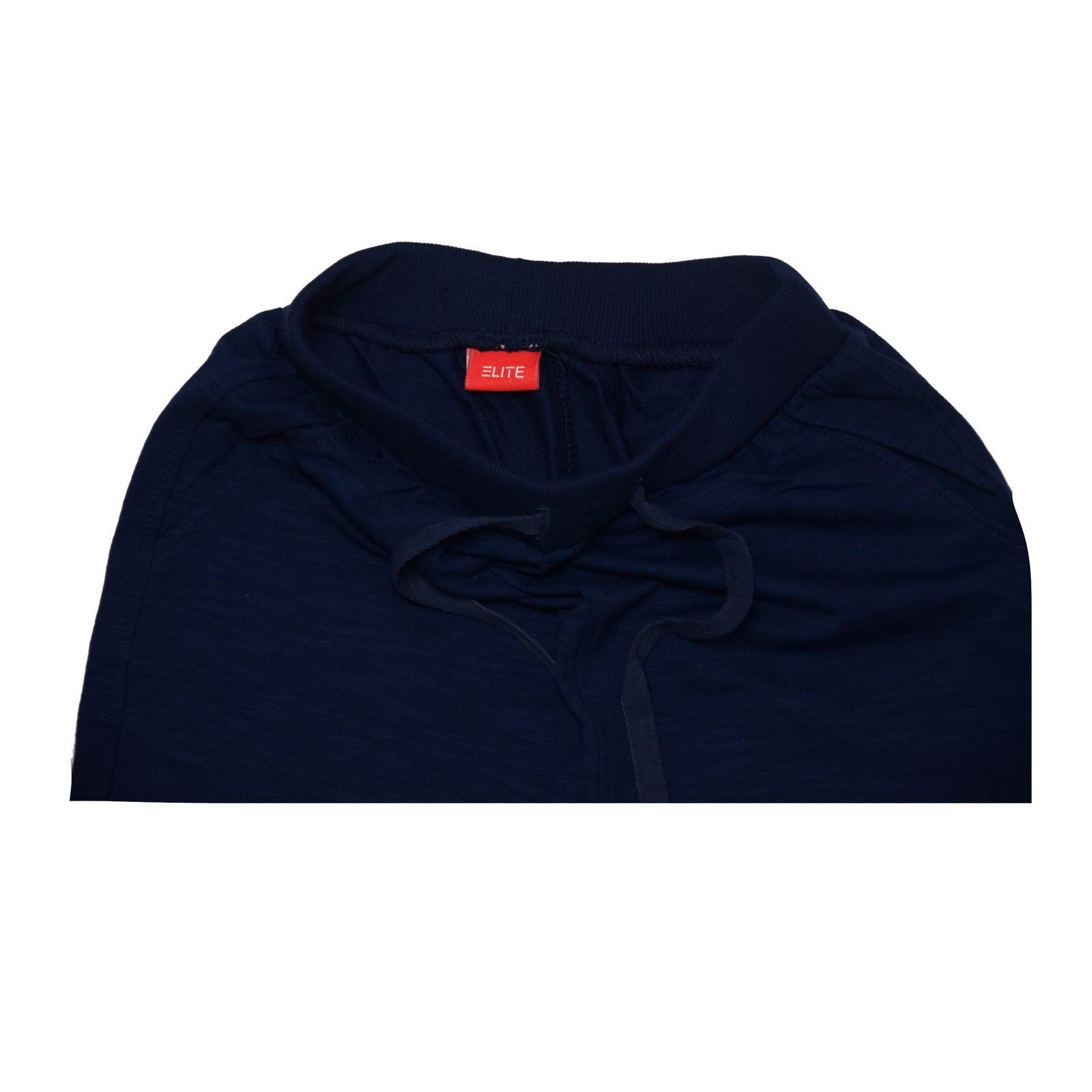 ست تی شرت و شلوارک پسرانه الیت مدل 1-669 -  - 4