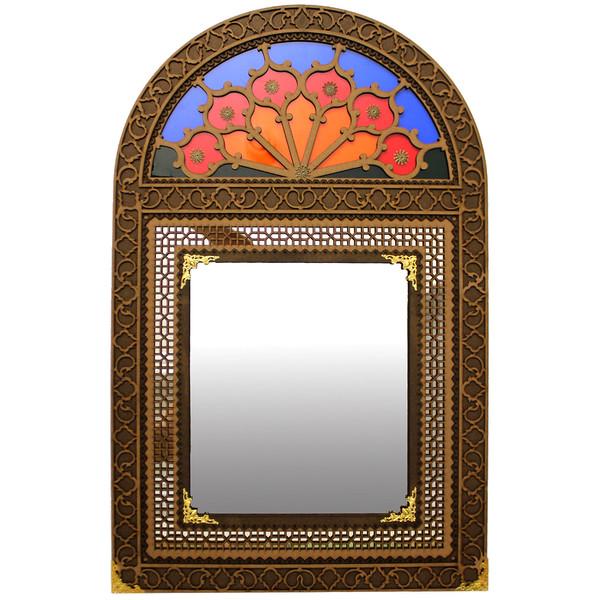 آینه دست نگار مدل پنجره سنتی کد 50-31