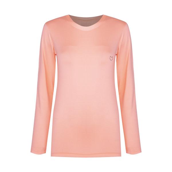 تی شرت آستین بلند ورزشی زنانه مل اند موژ مدل W06677-901
