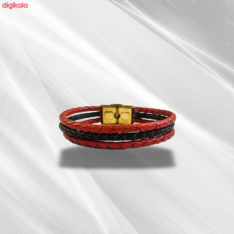 دستبند چرم وارک مدل دایان کد rb359 main 1 4