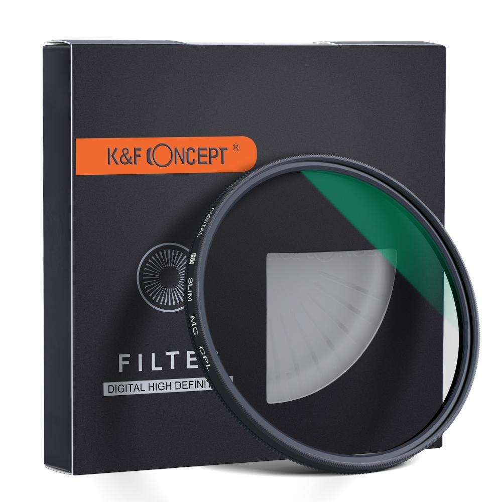 فیلتر لنز کی اند اف مدل Slim MC CPL Green Muilt-Coated 62mm  در بزرگترین فروشگاه اینترنتی جنوب کشور ویزمارکت