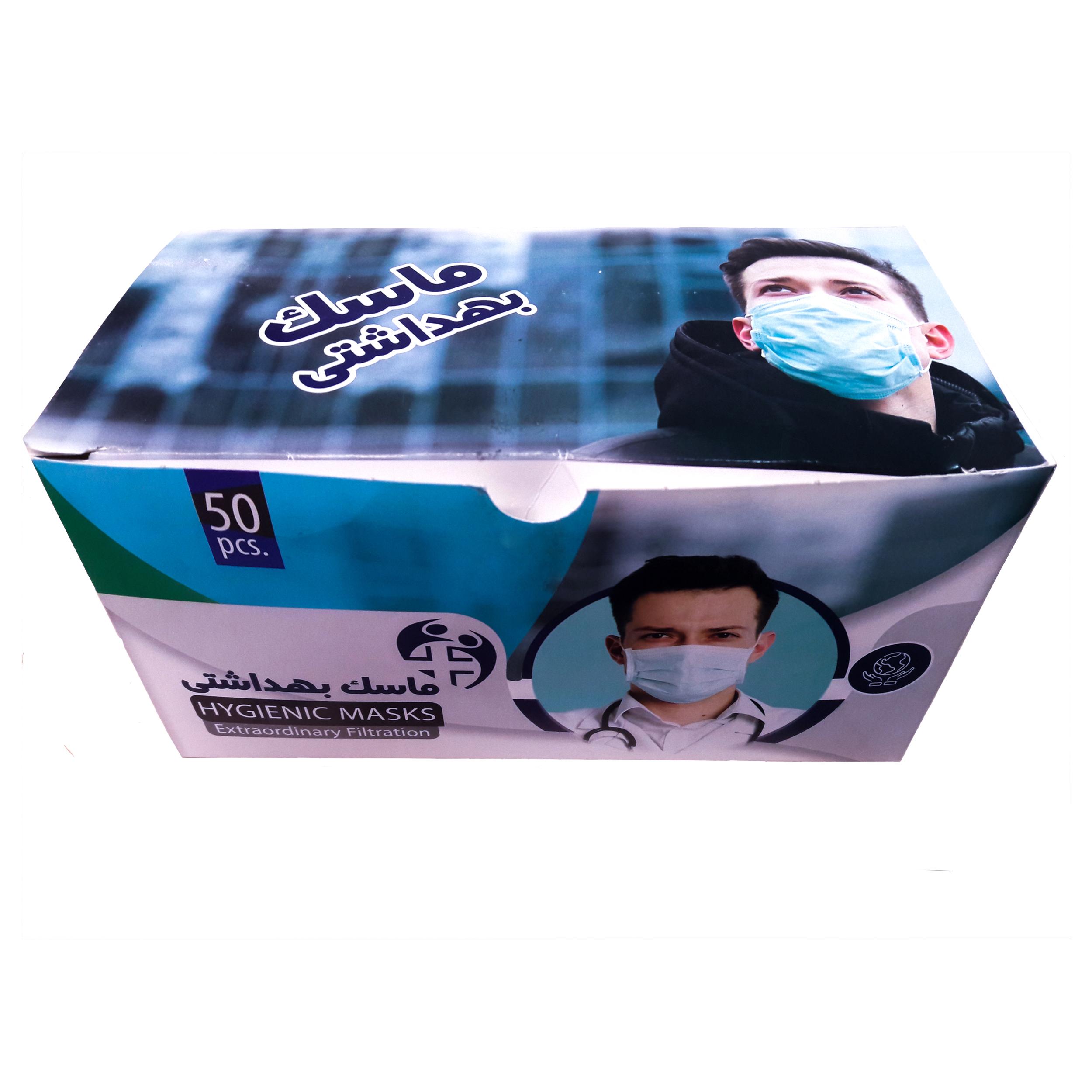 ماسک تنفسی مدل AZ2000 بسته 2000 عددی