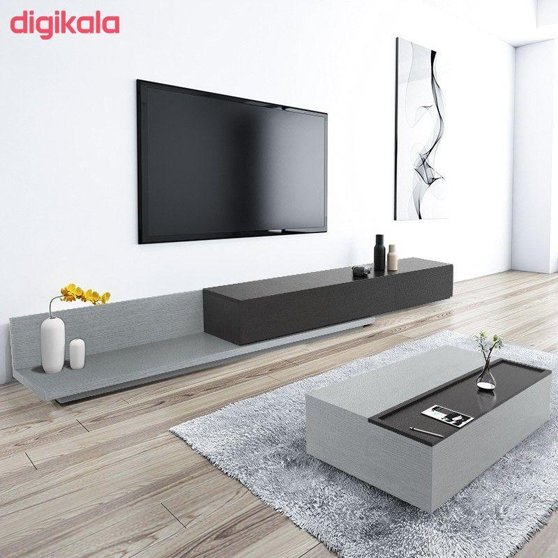 میز تلویزیون دیواری مدل MTVBL200 main 1 2