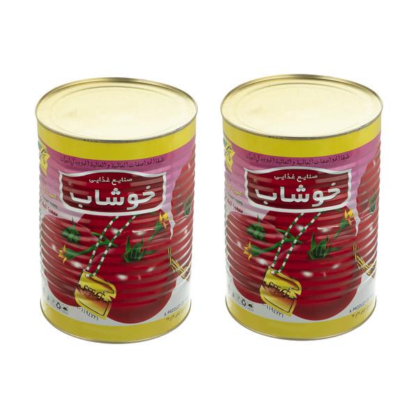 رب گوجه فرنگی خوشاب - 4 کیلوگرم بسته 2 عددی