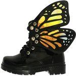 بوت دخترانه مدل پروانه کد 0300