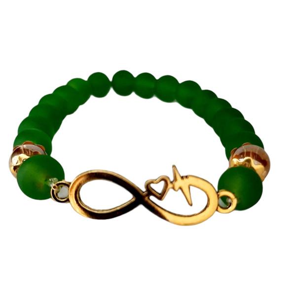 دستبند زنانه مدل بی نهایت کد AL_BKHRD