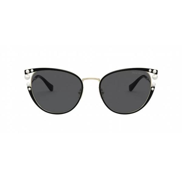 عینک آفتابی زنانه میو میو مدل 62VS Core Collection AAV5S0 Negro