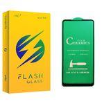محافظ صفحه نمایش سرامیکی فلش مدل +HD مناسب برای گوشی موبایل سامسونگ Galaxy A21