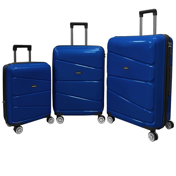 مجموعه سه عددی چمدان الکسا مدل ALX888 Ironclad