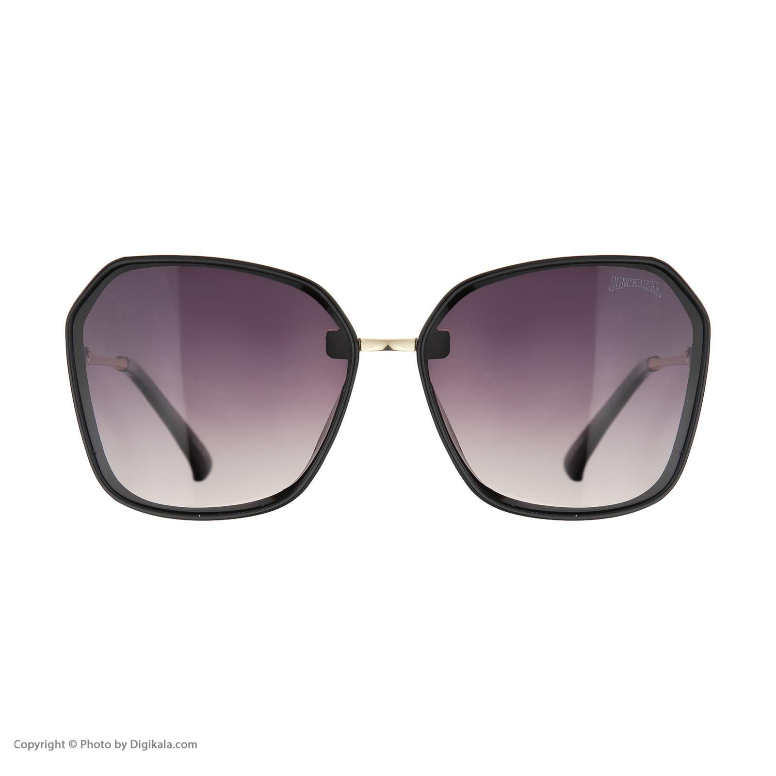عینک آفتابی زنانه سانکروزر مدل 6002 -  - 3
