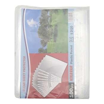 کاور کاغذ A5 مدل protector بسته 100 عددی