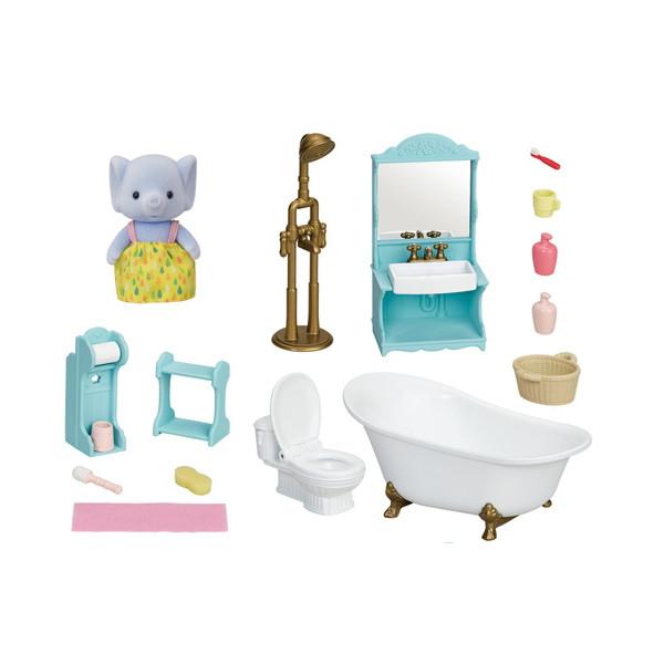 ست اسباب بازی حمام و فیل سیلوانیان فامیلیز کد 5380