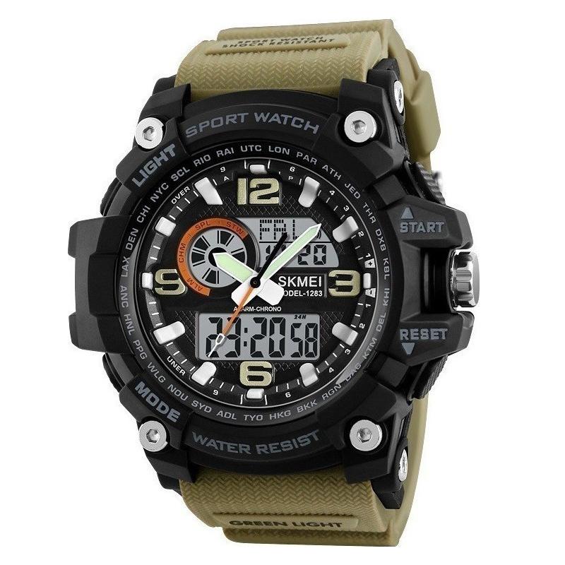 ساعت مچی عقربه ای مردانه اسکمی مدل 1283KH-NP