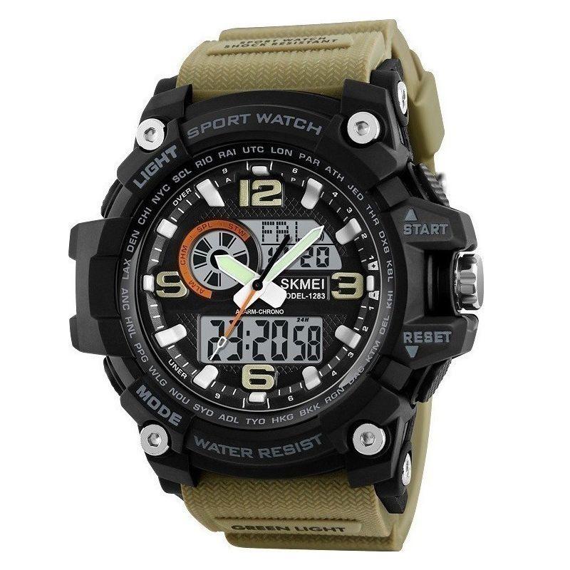 ساعت مچی عقربه ای مردانه اسکمی مدل 1283KH-NP -  - 2