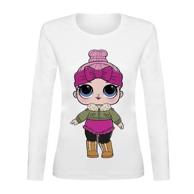 تی شرت آستین بلند زنانه کد TAB01-147