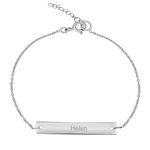 دستبند نقره زنانه ترمه ۱ مدل هلن کد DN 3027