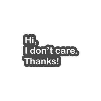 استیکر لپ تاپ لولو طرح سلام برام مهم نیست ممنون کد 294