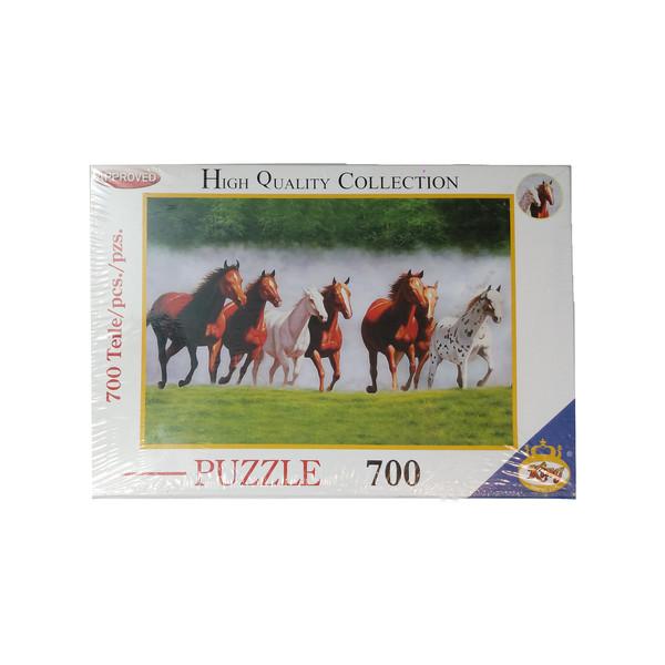 پازل 700 تکه کینگ مدل اسب های وحشی