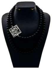 گردنبند نقره زنانه دلی جم طرح گر جان به جان من کنی جان و جهان کد D 56 -  - 1