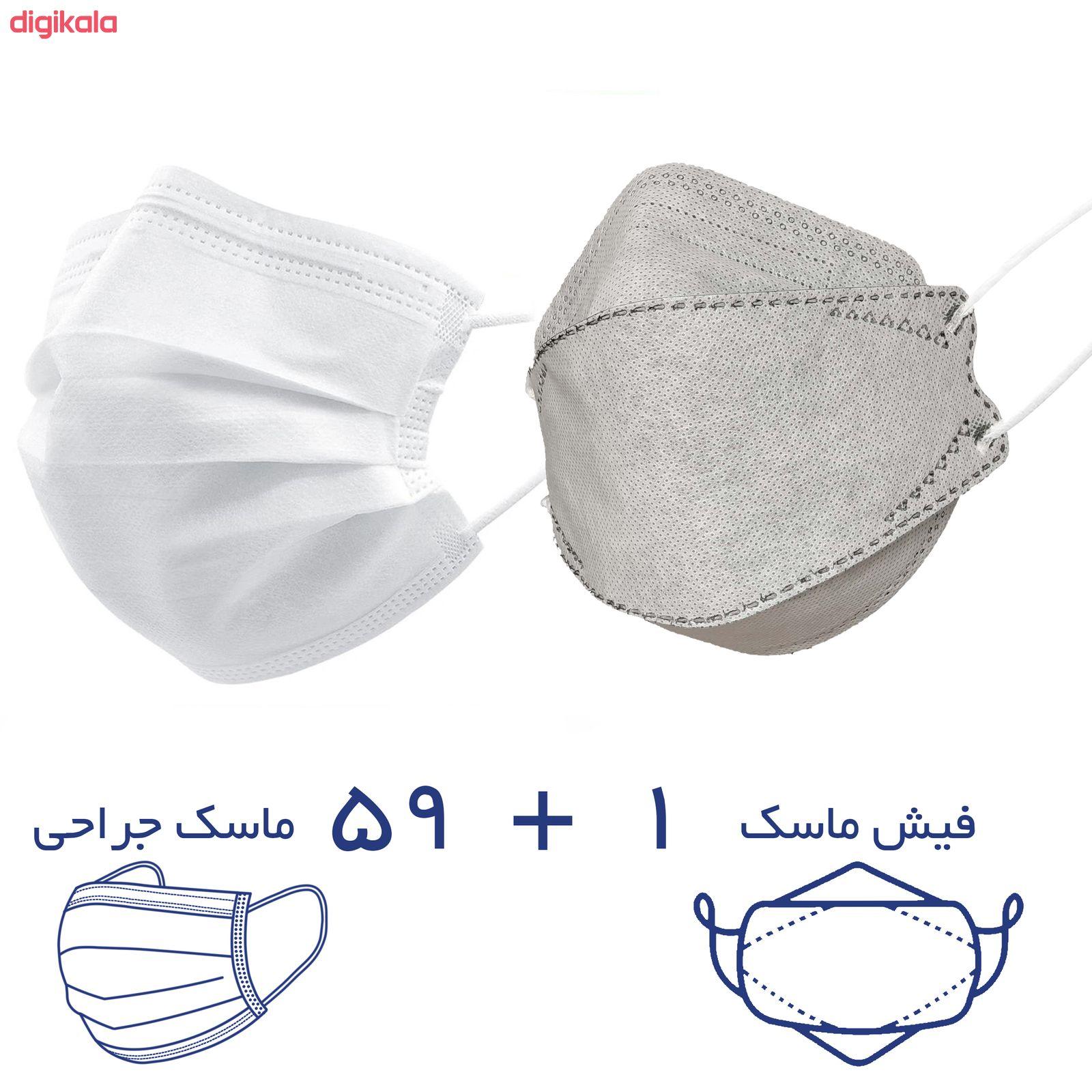 ماسک تنفسی ریباطب مدل پریمیوم مجموعه 60 عددی main 1 5