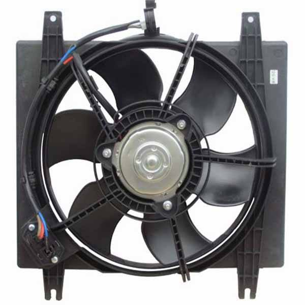 موتور و پروانه فن رادیاتور مادپارت مدل MT3