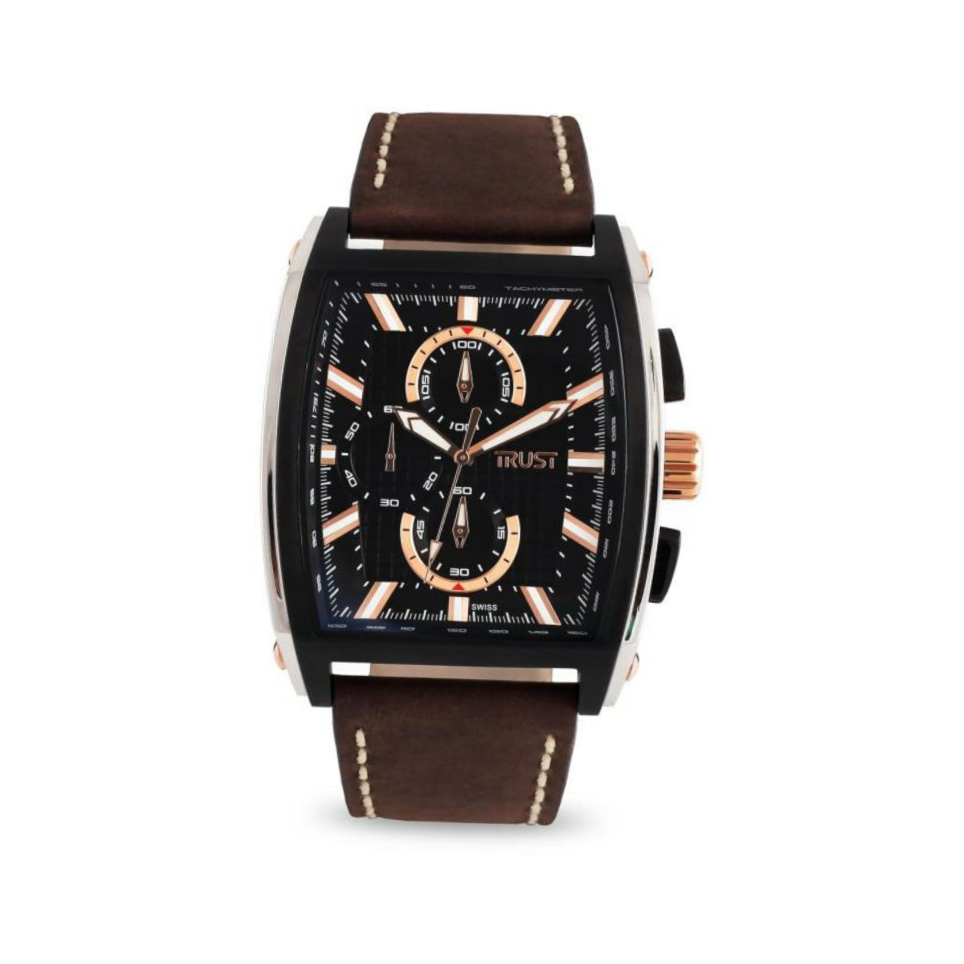 ساعت مچی عقربه ای مردانه تراست مدل G484OUD               ارزان