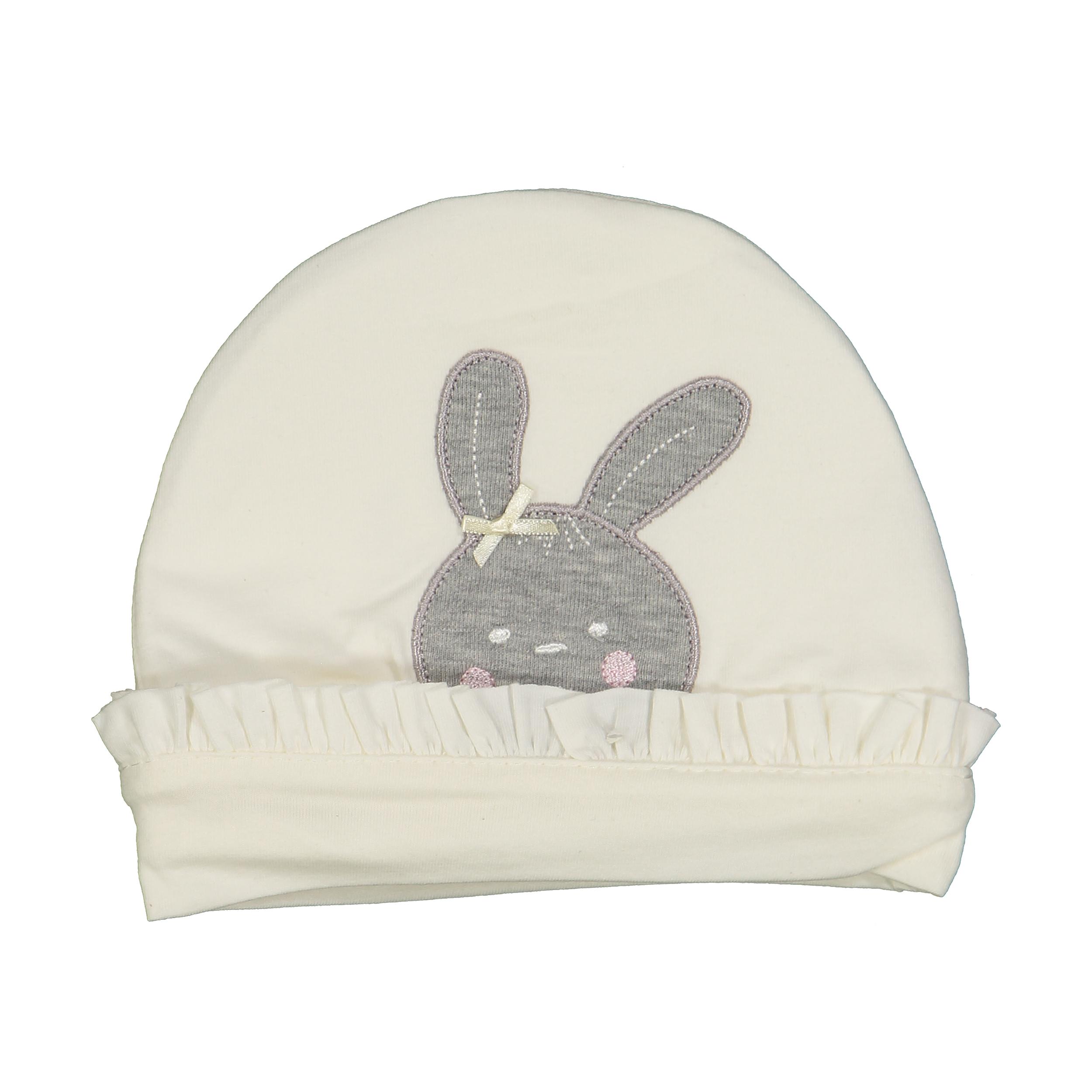 کلاه نوزادی فیورلا کد 40007