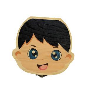 جعبه نگهداری دندان شیری کودک مدل پسرانه کد 433