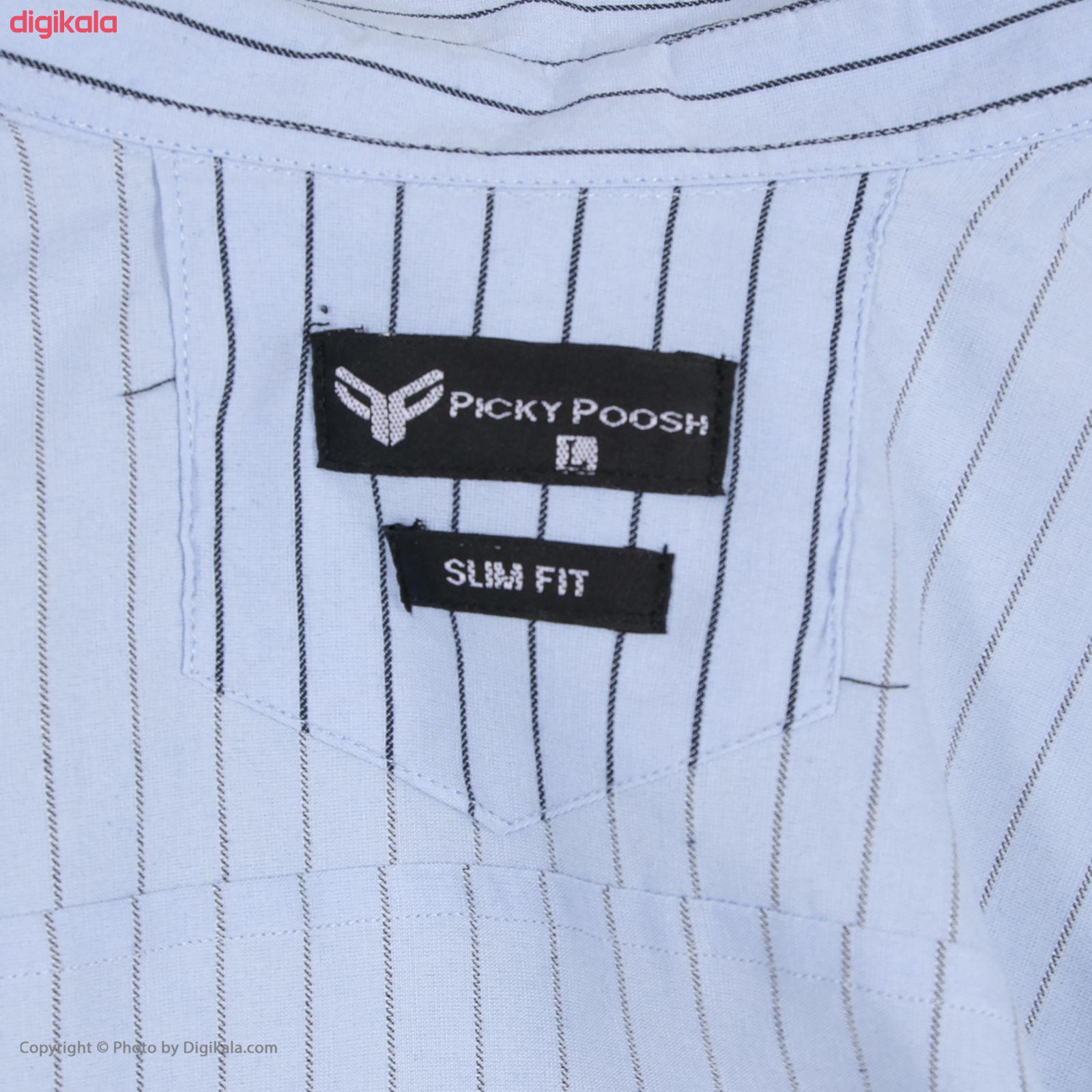 پیراهن مردانه پیکی پوش مدل M02347 main 1 6