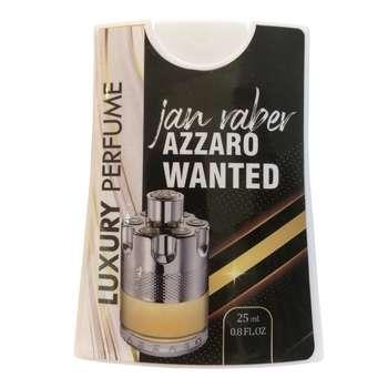عطر جیبی مردانه جانرابر مدل AZZARO WANTED حجم 25 میلی لیتر