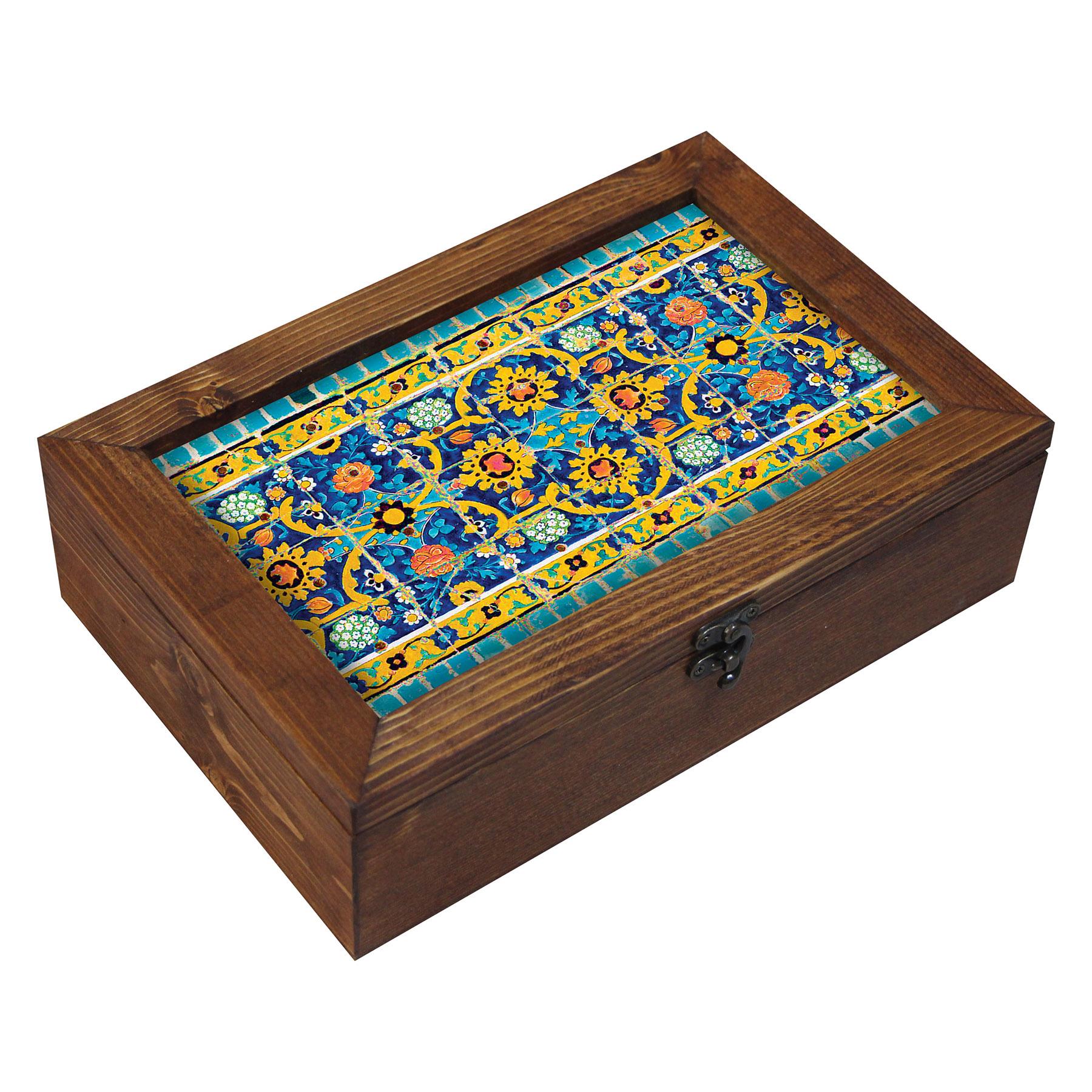 جعبه هدیه چوبی مدل EG11