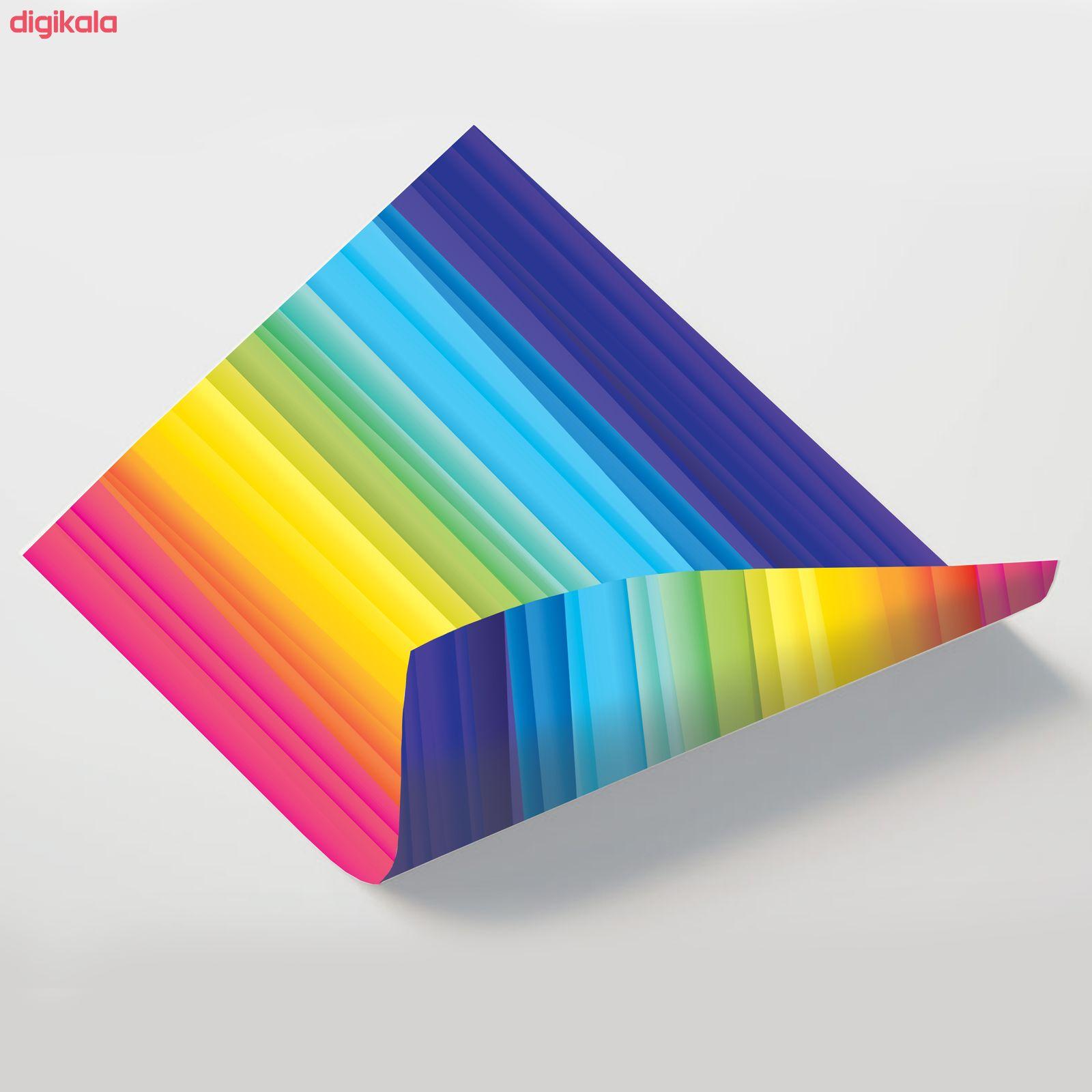 کاغذ رنگی A4 مستر راد مدل رنگارنگ بسته 10 عددی main 1 12