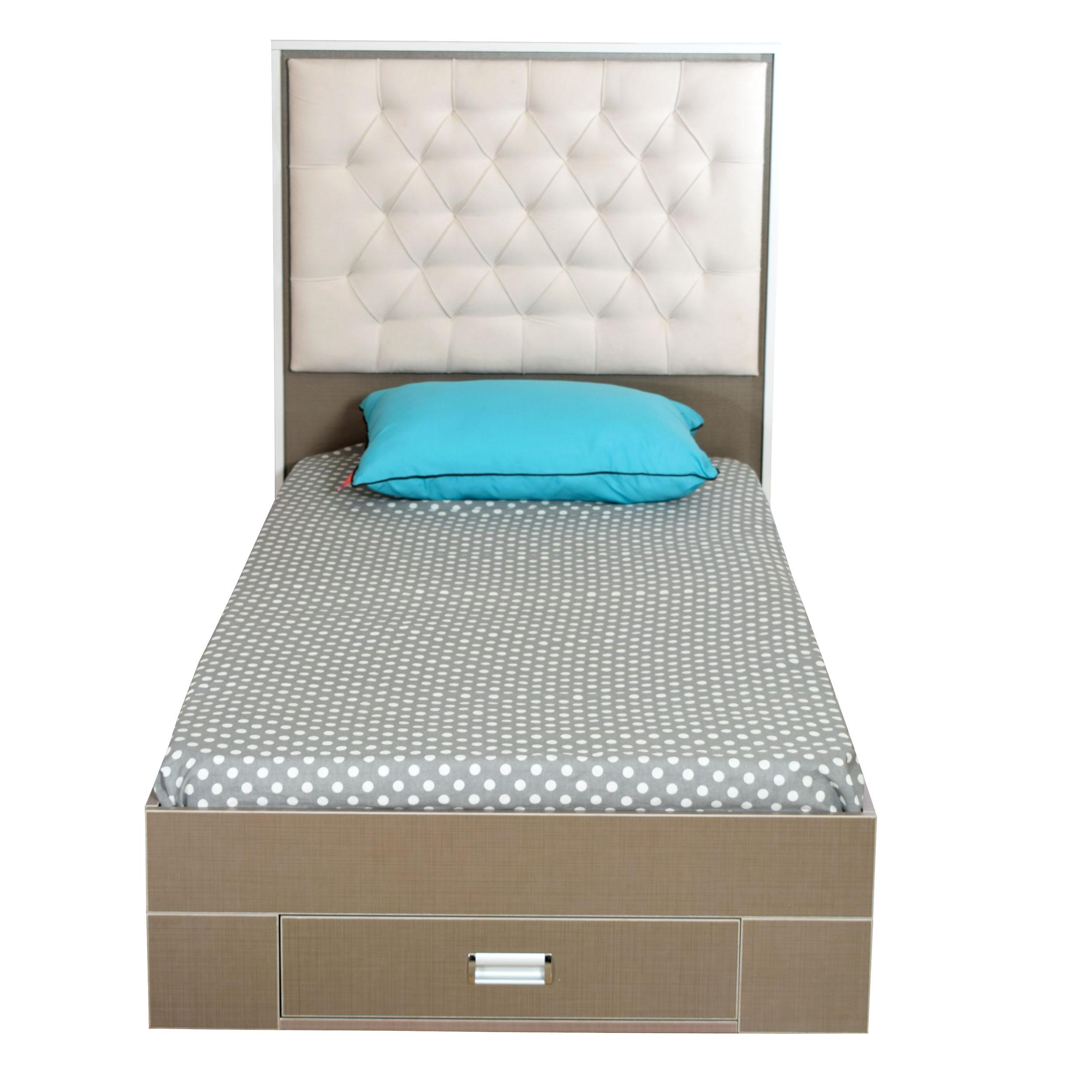 تخت خواب تک نفره مدل لامسی سایز 200x90 سانتی متر