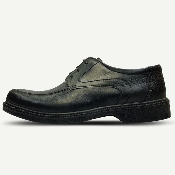 کفش چرم مردانه مدل تبریز پوش کد BkSati