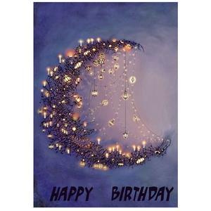 کارت پستال کاف پستال طرح تبریک تولد کد Kaf_1050
