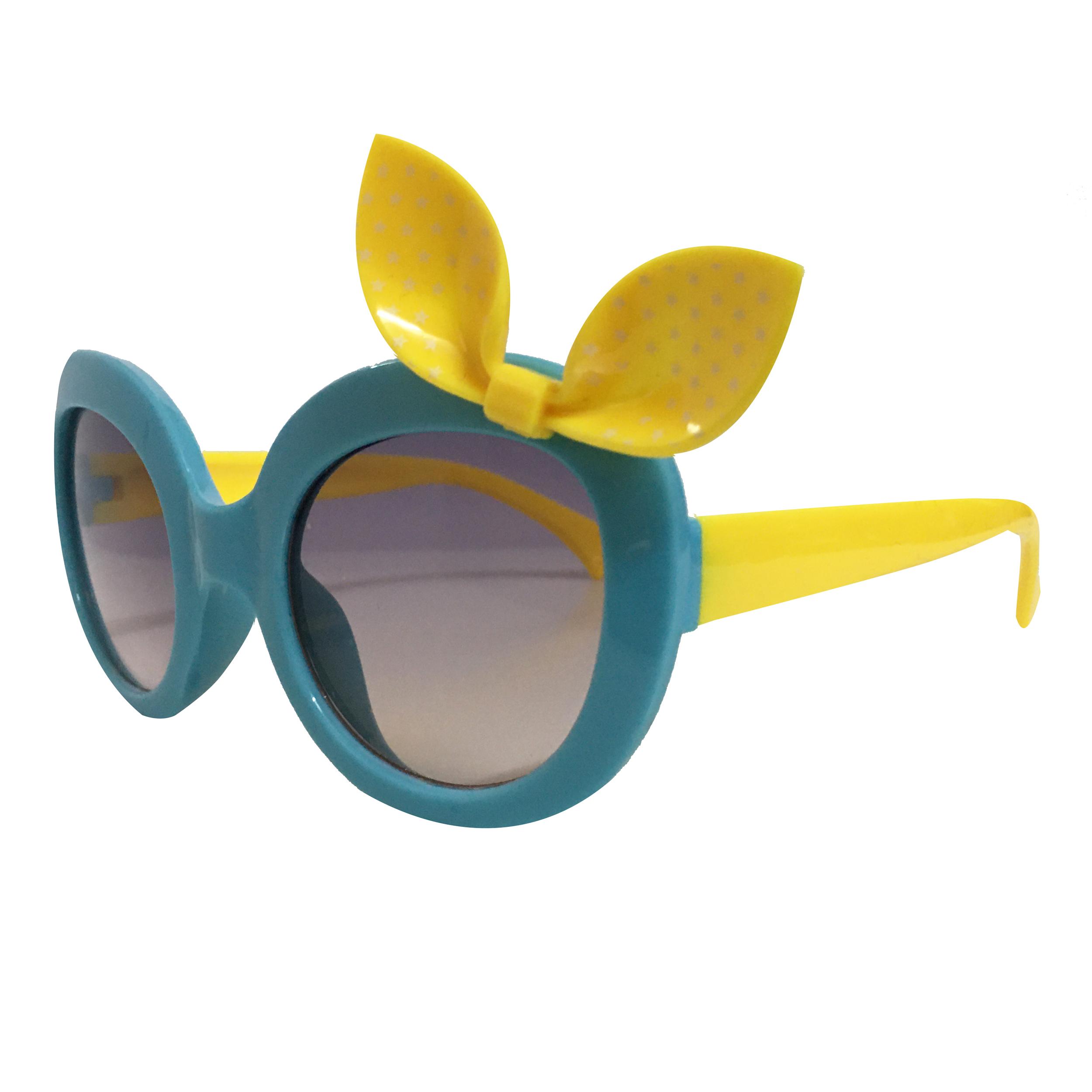 عینک آفتابی دخترانه طرح پاپیون کد 1510