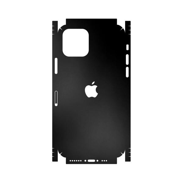 برچسب پوششی ماهوت مدل Black-Matte-FullSkin مناسب برای گوشی موبایل اپل iPhone 11 Pro Max