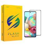 محافظ صفحه نمایش سرامیکی فلش مدل +HD مناسب برای گوشی موبایل سامسونگ Galaxy A71