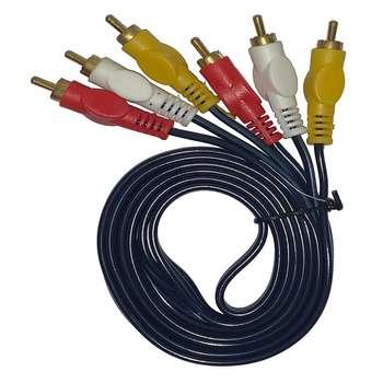کابل تبدیل 3 به 3 RCA  اونیکس  طول 1.5 متر