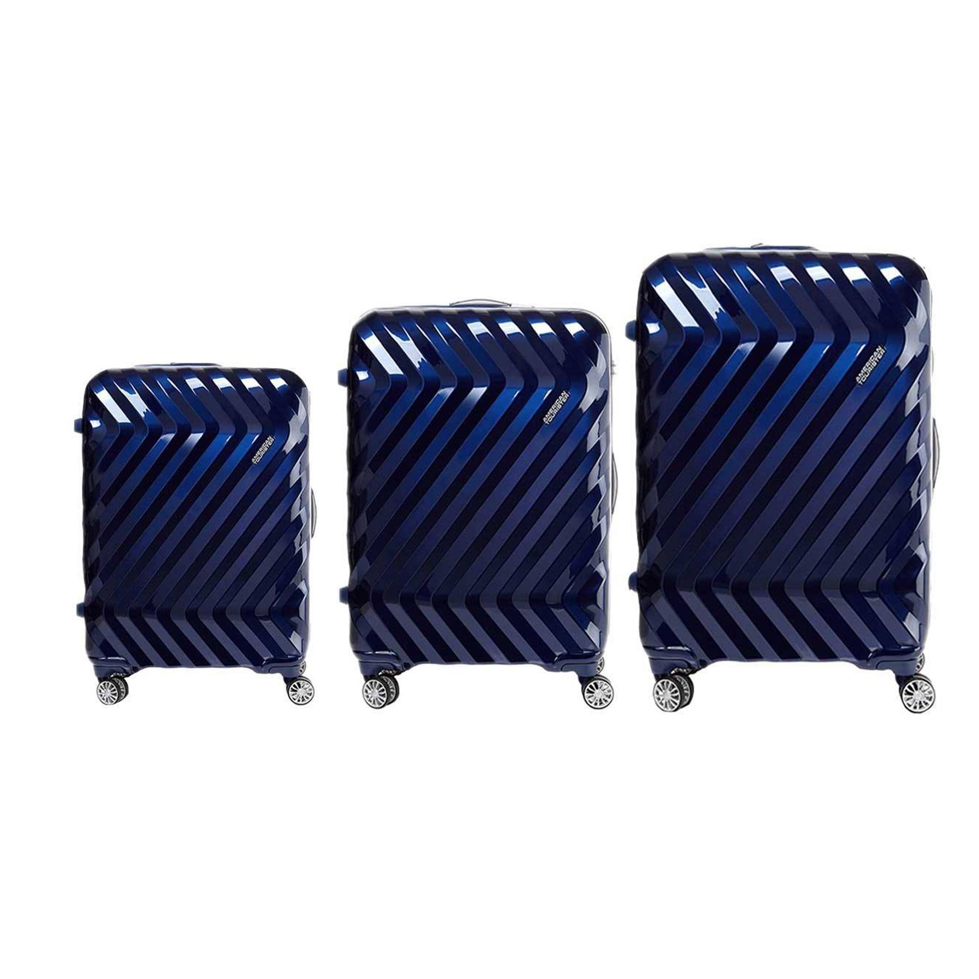 مجموعه سه عددی چمدان امریکن توریستر مدل zavis-I25