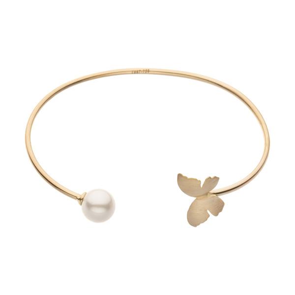 دستبند النگویی طلا 18 عیار زنانه مایا ماهک مدل MB1201