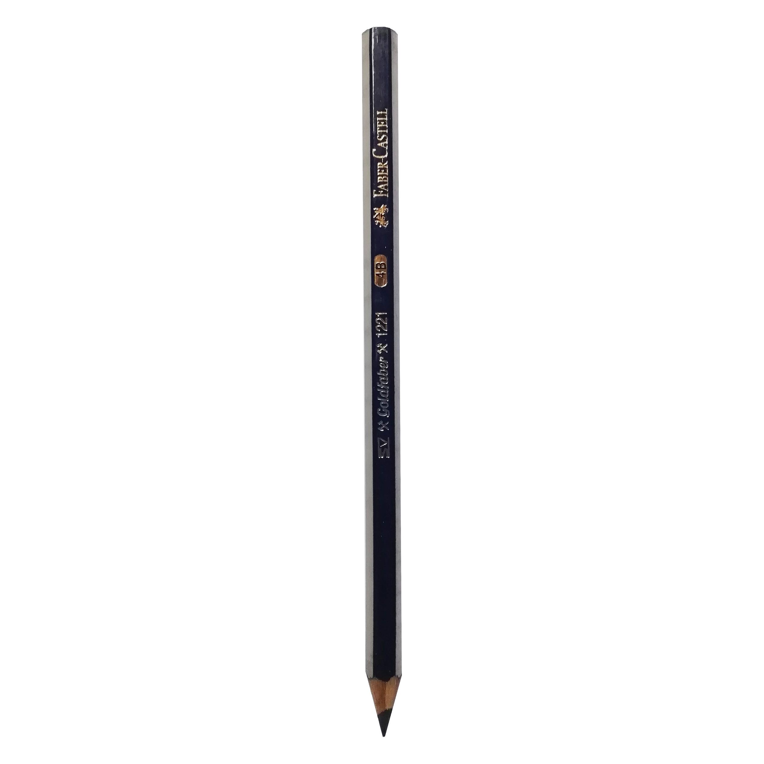 مداد طراحي فابركاستل مدل گلد فابر كد 4B