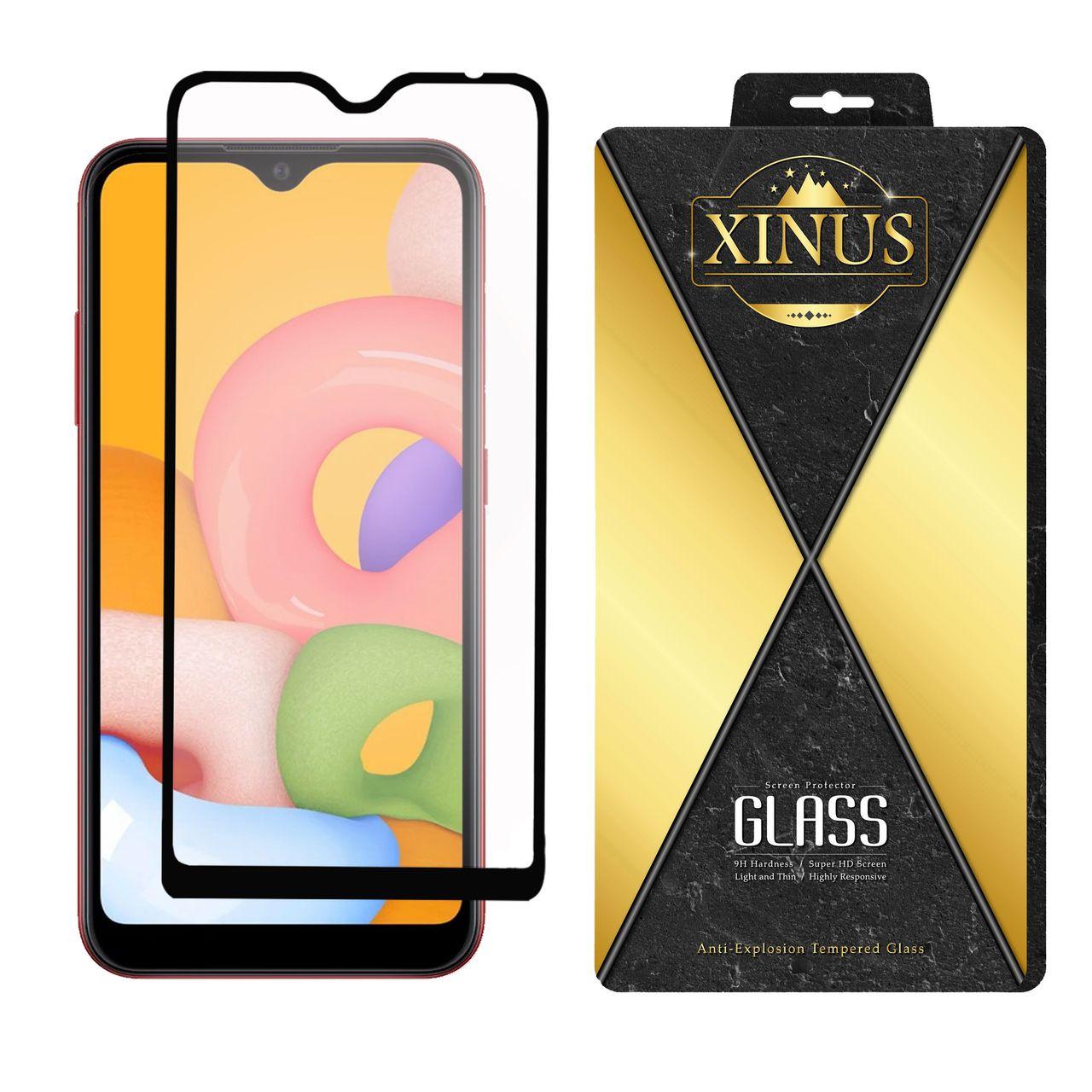 محافظ صفحه نمایش سرامیکی ژینوس مدل CMX مناسب برای گوشی موبایل سامسونگ Galaxy A01