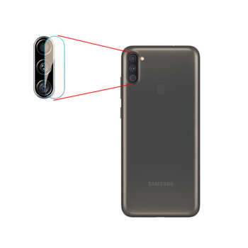 محافظ لنز دوربین مدل LP01pr مناسب برای گوشی موبایل سامسونگ Galaxy A11