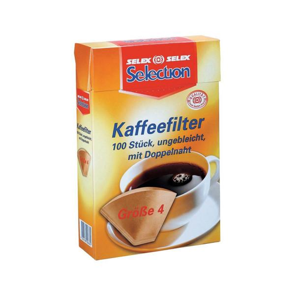 فیلتر قهوه کد x021 بسته 100 عددی