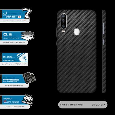 برچسب پوششی ماهوت مدل Shine-Carbon-Fiber-FullSkin مناسب برای گوشی موبایل جی ال ایکس Shahin 2