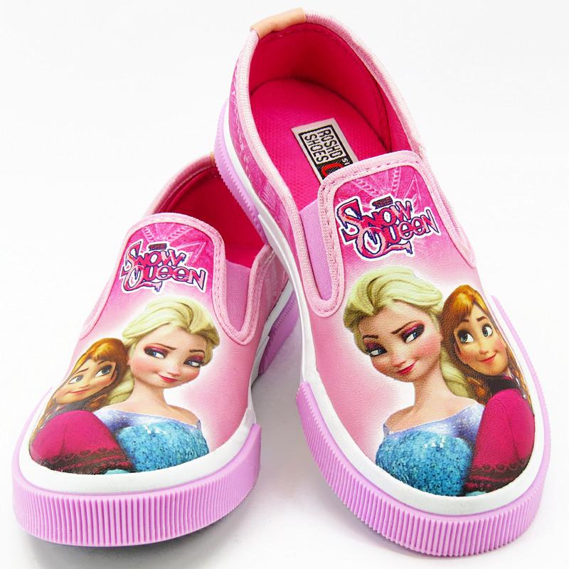 کفش دخترانه رشد طرح فروزن